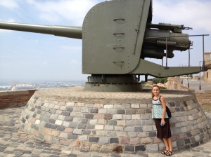 Canons at Castle Montjuic