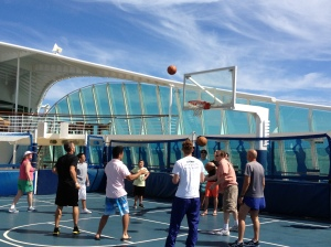 Basketball court On Liberty of the Seas