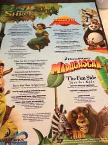 Madagascar Menu
