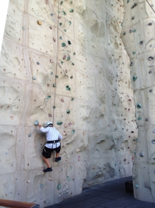 Rock Climbing on the Liberty