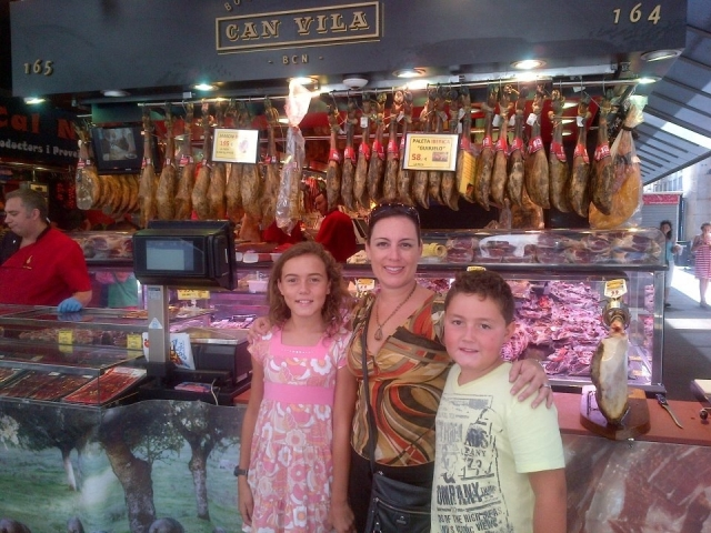 Family at La Mercat
