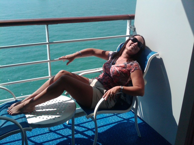 Balcony of Ocean Princess