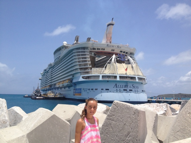 Allure of the Seas at St. Maarten Port