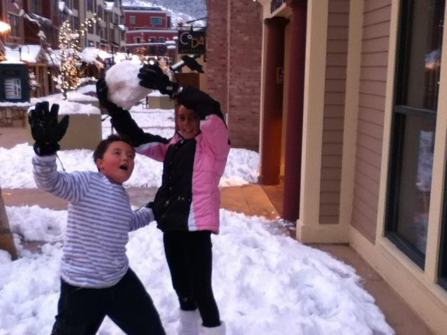 Lovin the snow