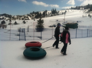 Tubing at Gorgoza Park