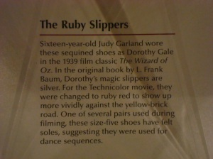 Ruby Slipper Sign