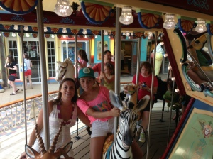 Only carousel out to sea