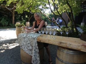 JM Cellars pouring