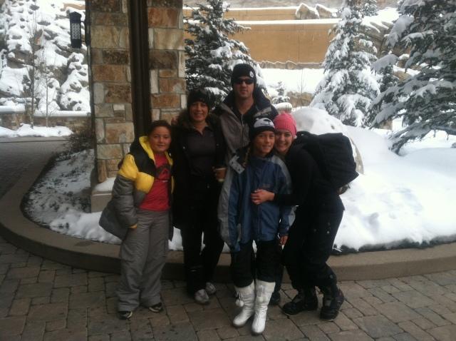 Valentines ski day