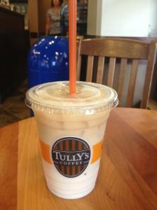 Iced tea latte