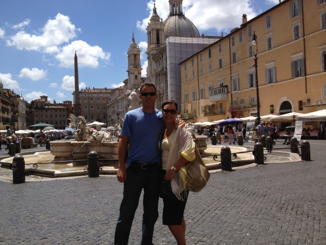 Shawl Scarf, Piazza Navona, Roma