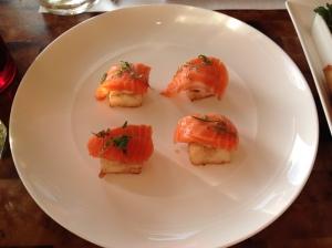 Kauai Grill, Salmon Sashimi
