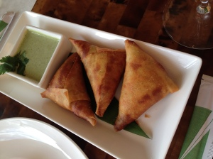 Kauai Grill, Spiced Chicken Samosas
