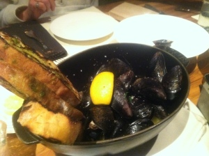 J&G Grill, Mussels