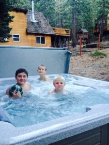 Hot Tub Time at Sugarpine