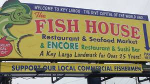 Fish House Sign