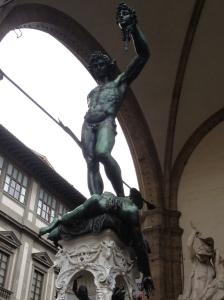 Perseus with the Head of Medusa at Loggia dei Lanzi