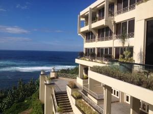 View front terrace