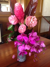 Flowers, St. Regis Bar