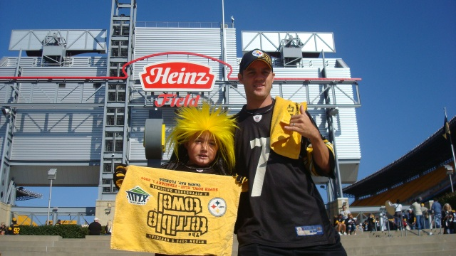 Worlds largest Steeler Fans