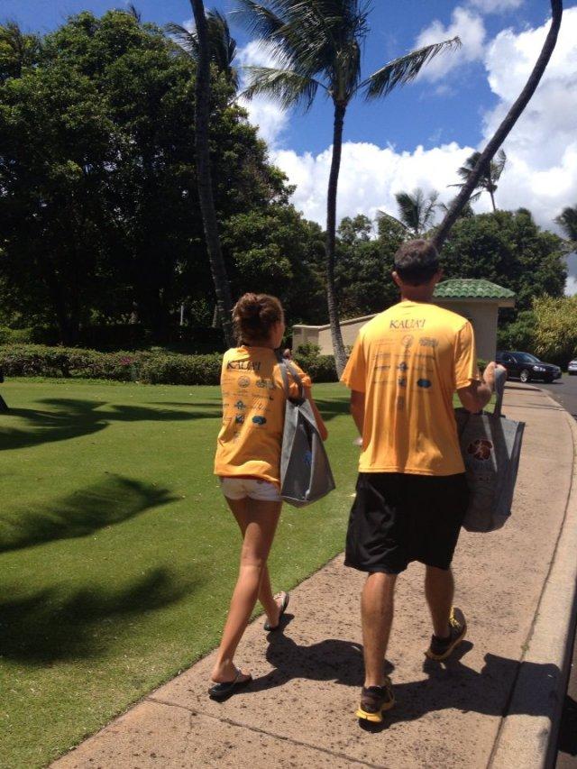 Packet Pick Up - Grand Hyatt Kauai