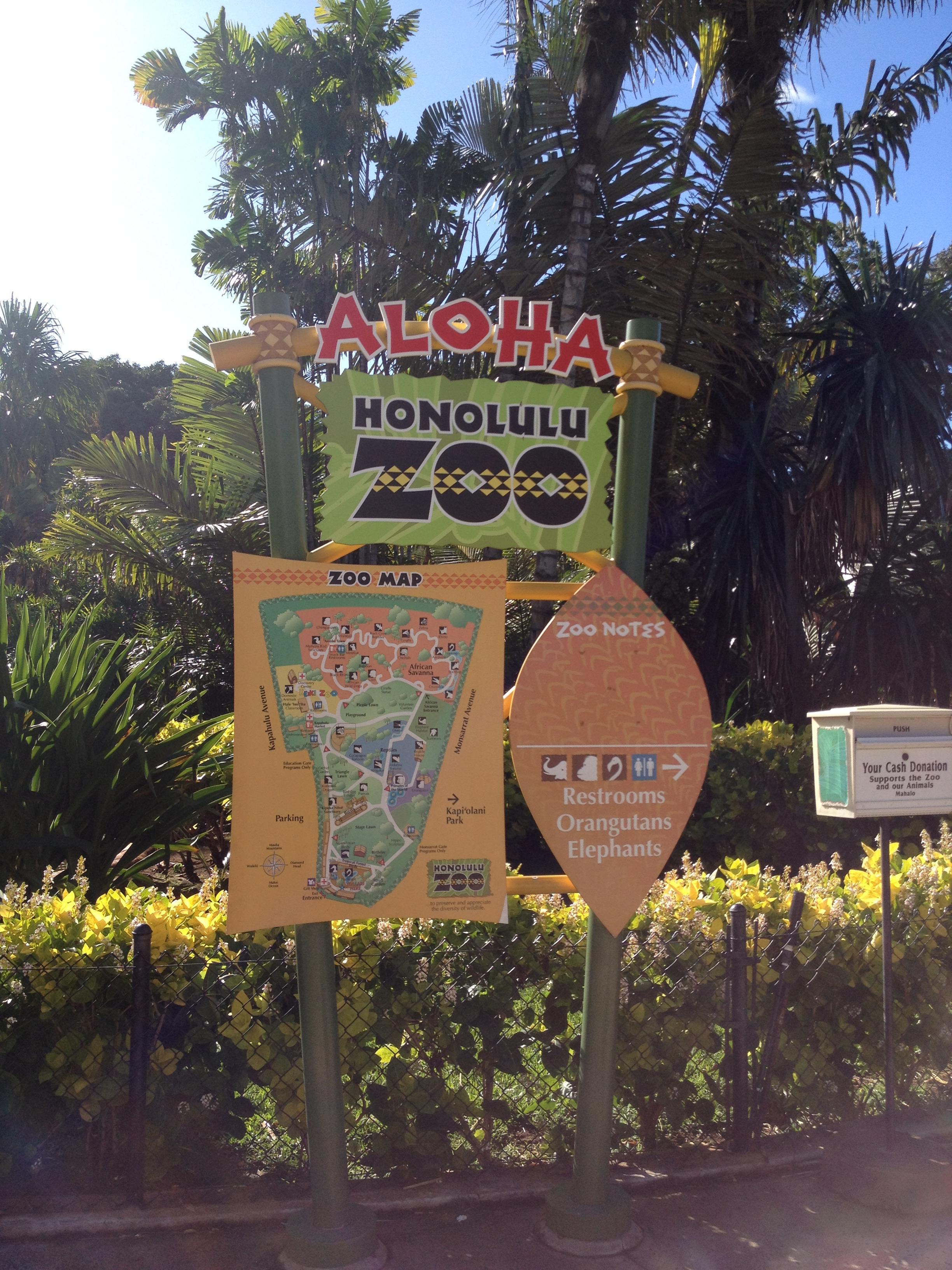 Walk to the Honolulu Zoo 5 Wheels to 5 Star