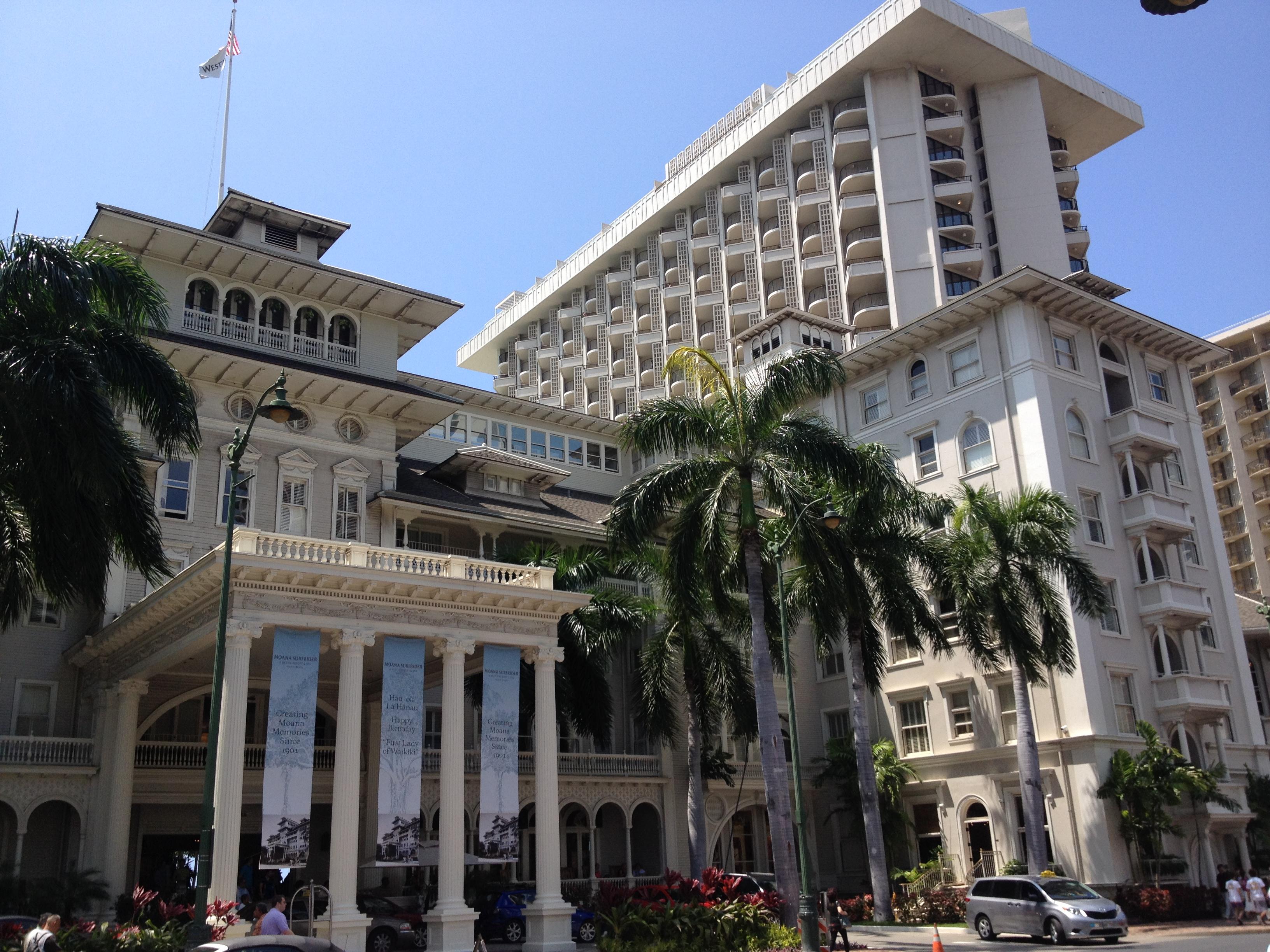 Best hotel in waikiki moana surfrider mar27 by keri · moana surfrider