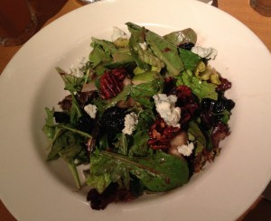 Blue Cheese & Pear Salad