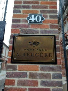 Champagne A. Bergere