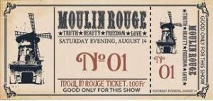 Moulin Rouge ticket