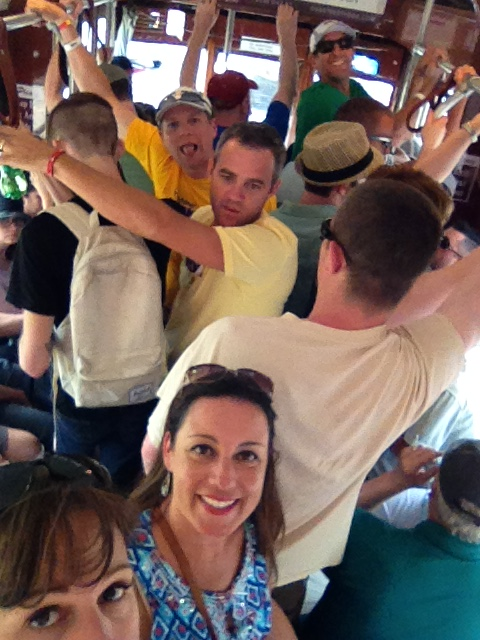 Fun times on the St. Charles Line