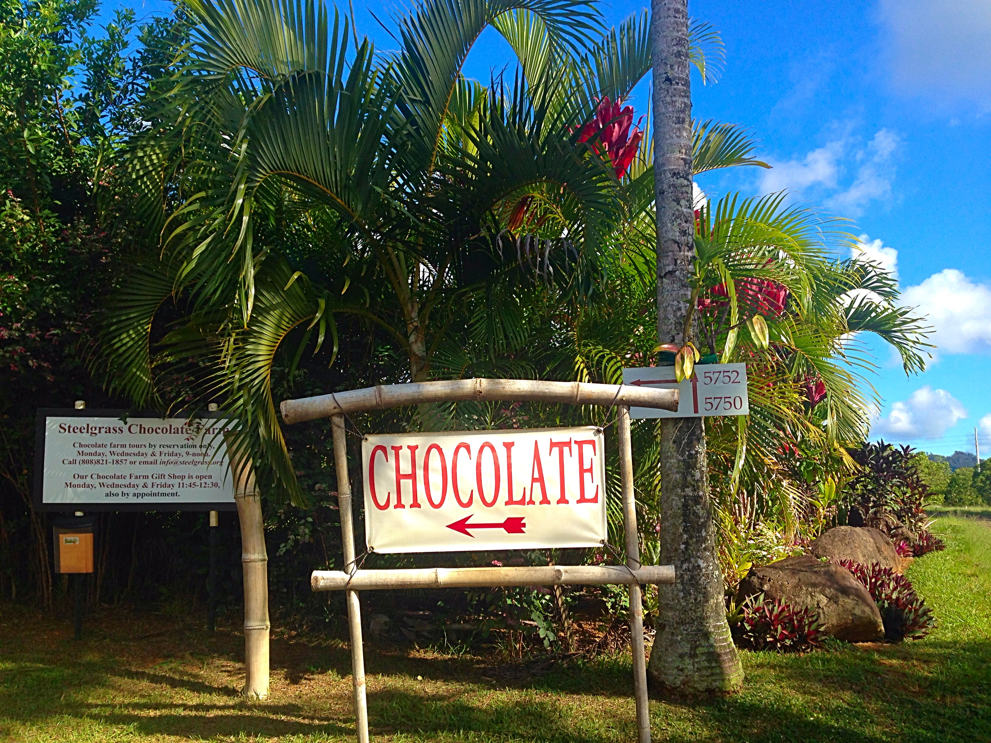 Steelgrass Chocolate Farm Tour, Kauai « 5 Wheels to 5 Star