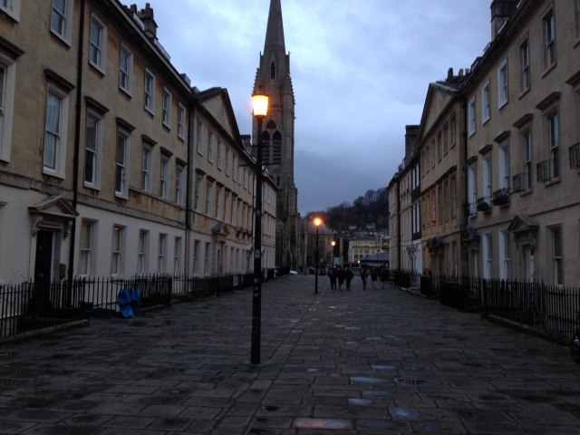 Stormy Day in Bath